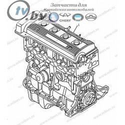 11106010464101 Двигатель 1,5 (EURO 4) Geely CK2 Geely CK/CK2