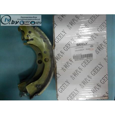 1403060180 Колодки тормозные задние комплект Geely CK/CK2