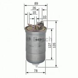 0450906429 Топливный фильтр BOSCH