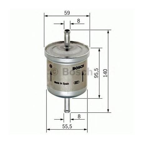 0450905002 Топливный фильтр BOSCH