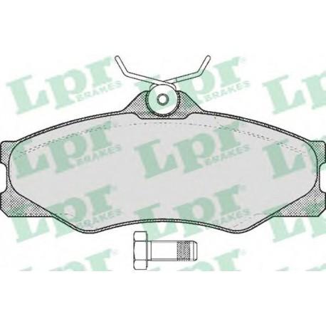 05P325 Дисковая тормозная колодка LPR