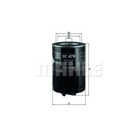 OC 470 Фильтр масляный KNECHT