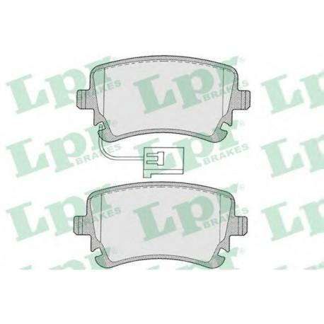 05P1206 Дисковая тормозная колодка LPR