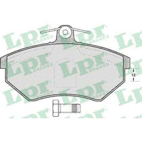 05P600 Дисковая тормозная колодка LPR