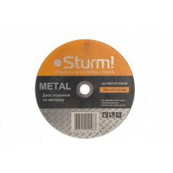 9020-07-230x20 Диск отрезной по металлу, размер 230x2.0x22.23 Sturm!