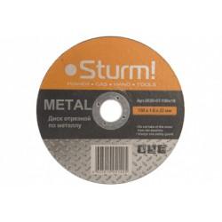 9020-07-150x16 Диск отрезной по металлу, размер 150x1.6x22.23 Sturm